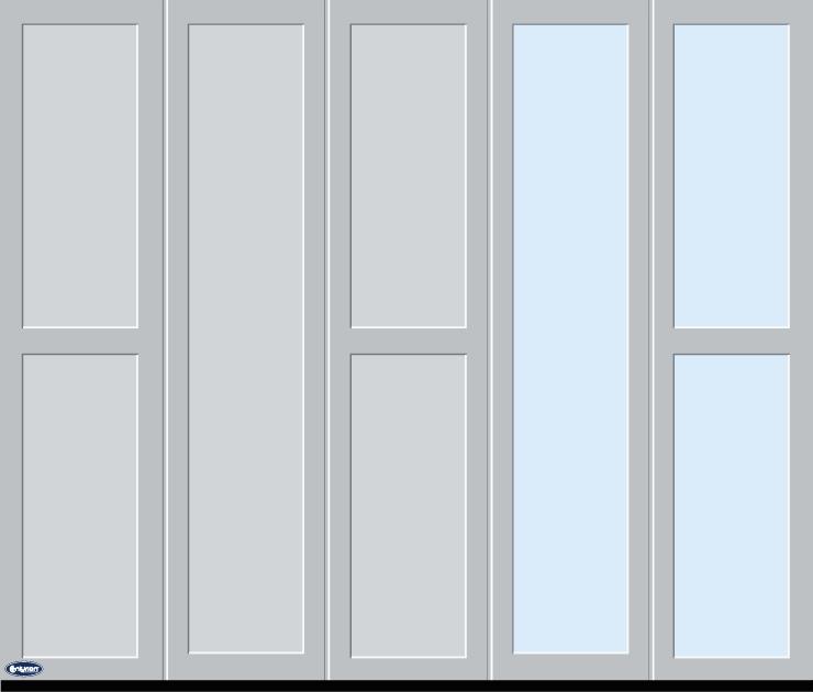 Alu-line garagedeuren zijwaarts 9