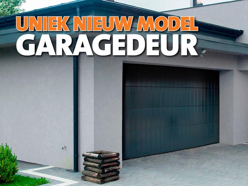 Uniek nieuw model garagedeur 1
